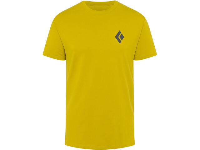 Black Diamond Double Diamond Tee Men sulphur
